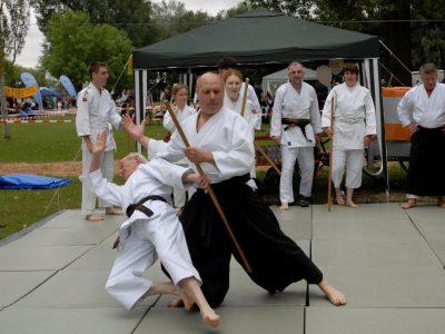Aikido-Vorführung am Tag es Sports durch Erik Blank und Bernd Teppler Bild: Willi Fischer