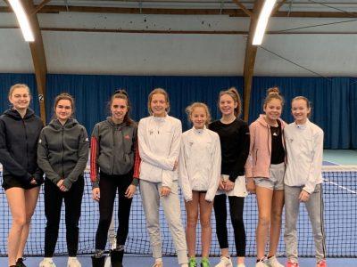 Juniorinnen I und II Halle 2019_20