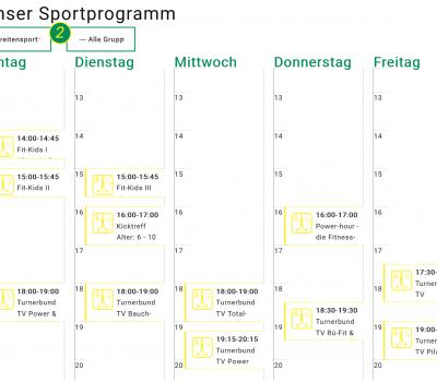 Sportprogramm 3